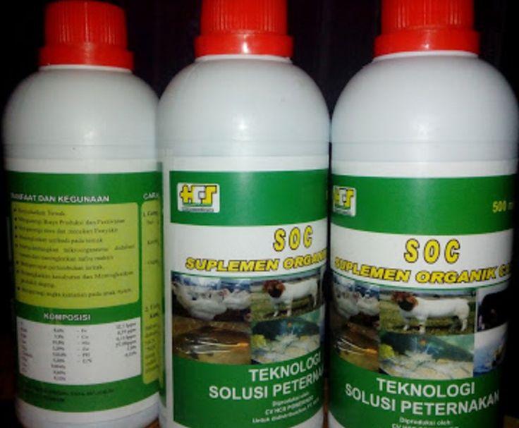 Suplemen Organik Cair SOC HCS