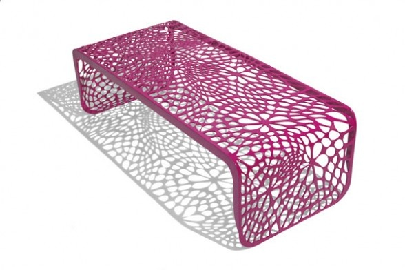 Modern Luxury Outdoor Benches By Pure Modern Accent 400 x 300