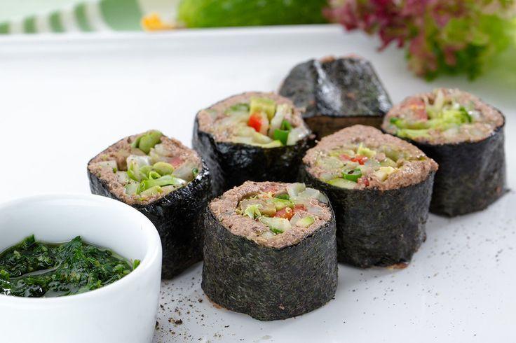 Роллы из гречки. Рецепт от Гаяне Бреиова (ресторан «Gayane's»)роллы