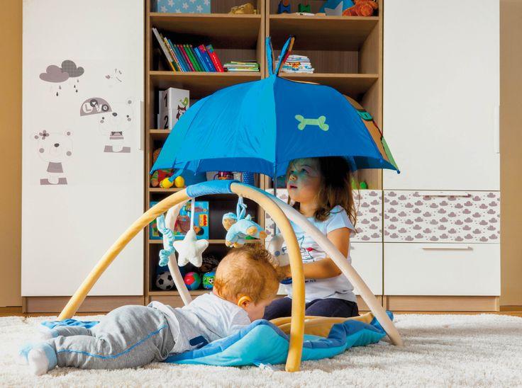 Poppi furnitures creating an intimate atmosphere in the nursery. / A Poppi bútorok meghitt hangulatot kölcsönöznek a gyerekszobának.