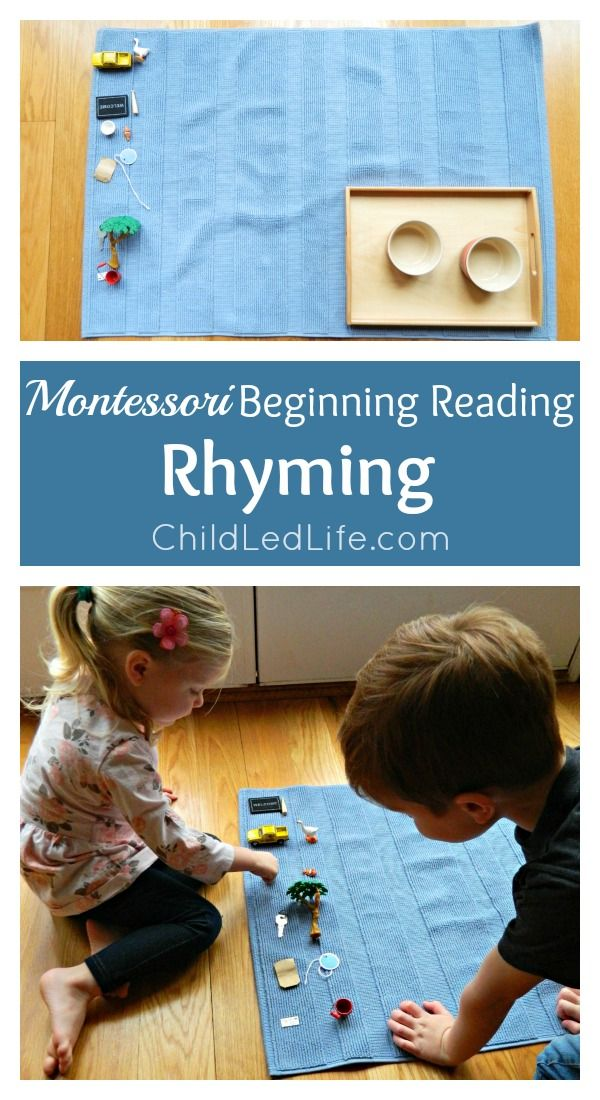 Fun Learning! Rhyming to help increase your child's phonemic awareness and FREE printable.