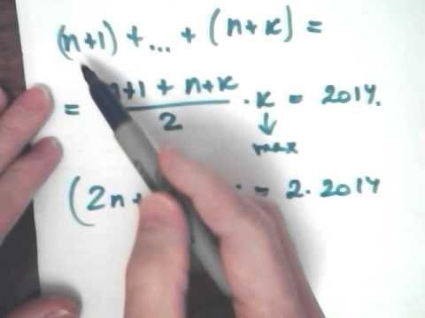 Решение задачи С6 ЕГЭ по математике 2015 целые числа, арифметическая прогрессия. высшая математика пределы примеры решения, второй замечательный предел, свойства пределов