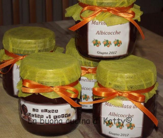 La buona cucina di Katty: Marmellata di albicocche