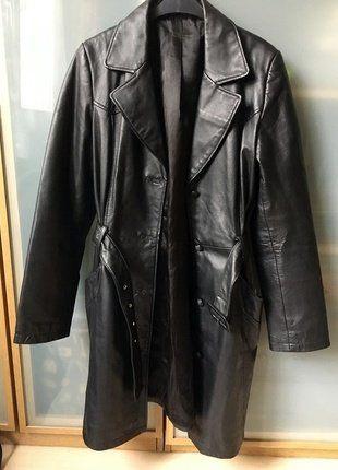 Kup mój przedmiot na #vintedpl http://www.vinted.pl/damska-odziez/plaszcze/15550767-skorzany-plaszcz-kurtka-militarny-styl-basic-minimalizm-tumblr-ramoneska