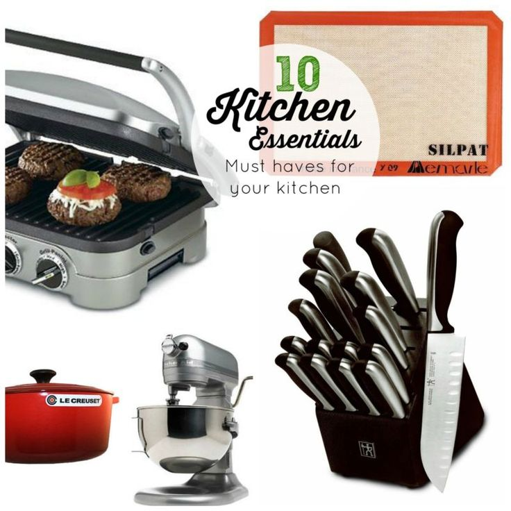 My 10 kitchen essentials set up the perfect kitchen for Perfect kitchen equipment