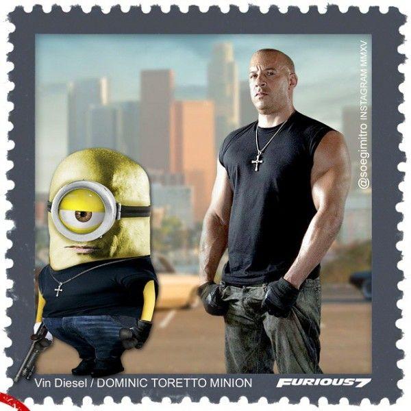 Vin Diesel - Dominic Toretto Minion
