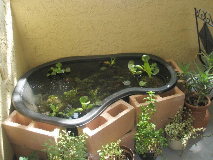 16 best preformed pond liner ideas images on pinterest | pond ... - Patio Pond Ideas