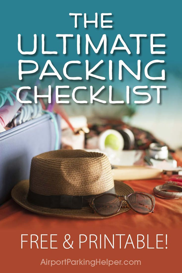 Discover stress-free packing with our FREE checklist! Download the handy PDF and never forget an important travel item ever again. The free travel packing checklist list is organized by category and includes columns so you can indicate how many of each it