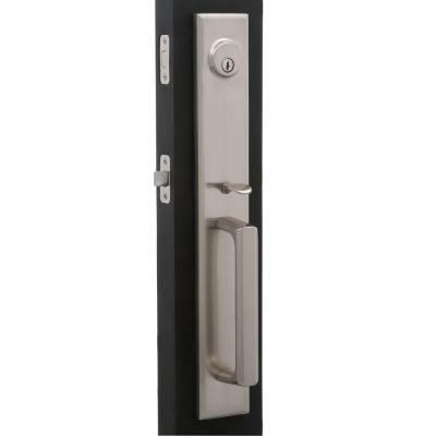 Weslock Elegance Single-Cylinder Satin Nickel Woodward II ...