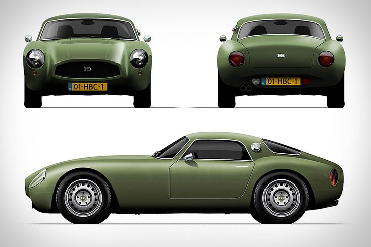 the HB Coupe: Army Green, Sports Cars, Modern Classic, Classic Cars, Huete Brother, Future Cars, Hb Coupe, Retro Style, Modern Retro
