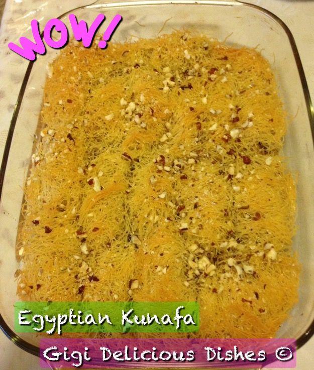 Egyptian Kunafa Recipe