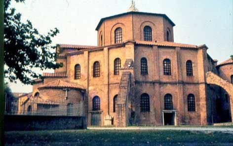 basilica of san vitale, Italy