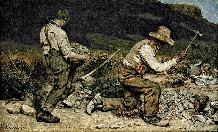 Die Steineklopfer - Realismus (Kunst) – Wikipedia