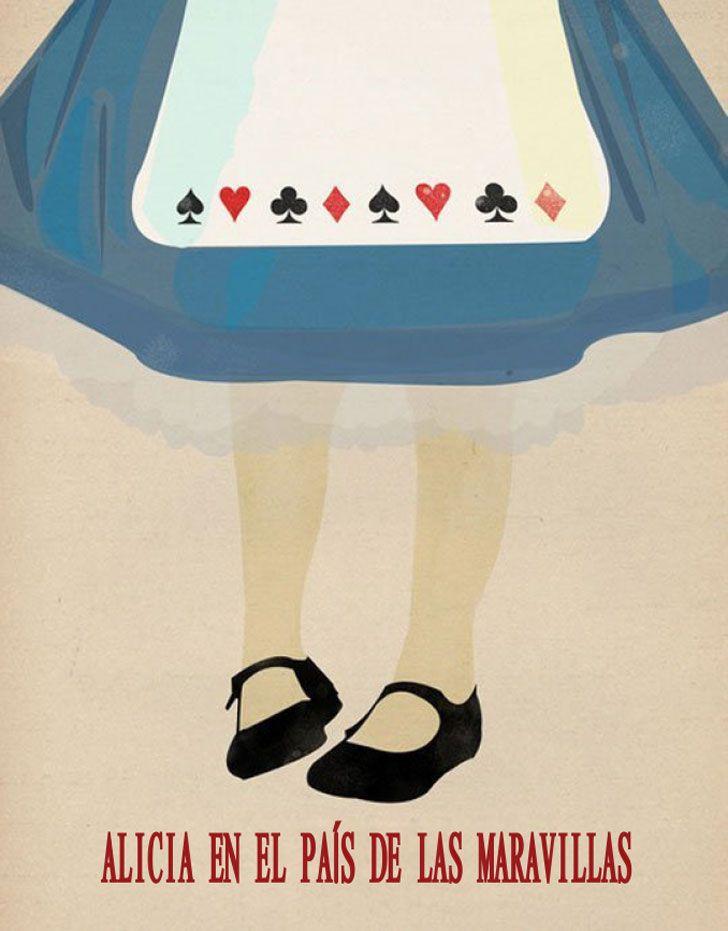 Disney a través de sus carteles minimalistas (Yosfot blog)