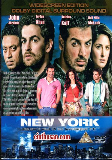 New York Hindi Movie Online - John Abraham, Katrina Kaif, Neil Mukesh and Irrfan Khan. Directed by Kabir Khan. Music by Pritam. 2009 New York Hindi Movie Online.