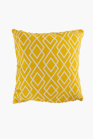Printed Geometric 45x45cm Scatter Cushion Cover