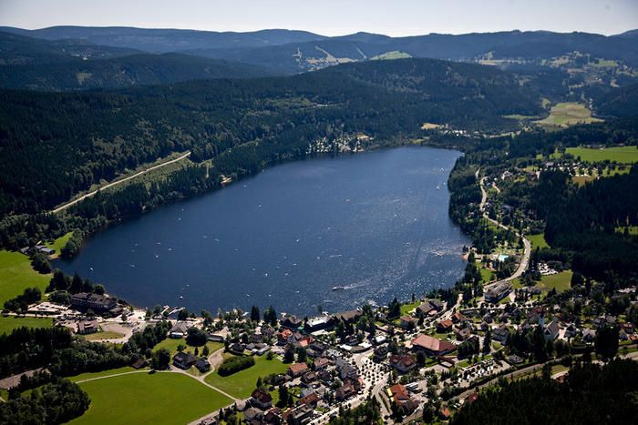 Titisee-Neustadt, Germany. I spent 6 months here with a very dear friend. Such memories. I would definitely love to swim in the lake again.
