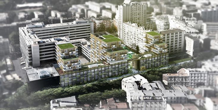Boulevard Brune - Paris XIVème   Lahyani Architecture