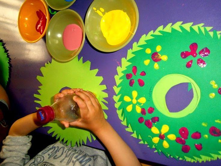 Προσχολική Παρεούλα : Μάης με όμορφα λουλούδια ... Ας τον καλωσορίσουμε !!!
