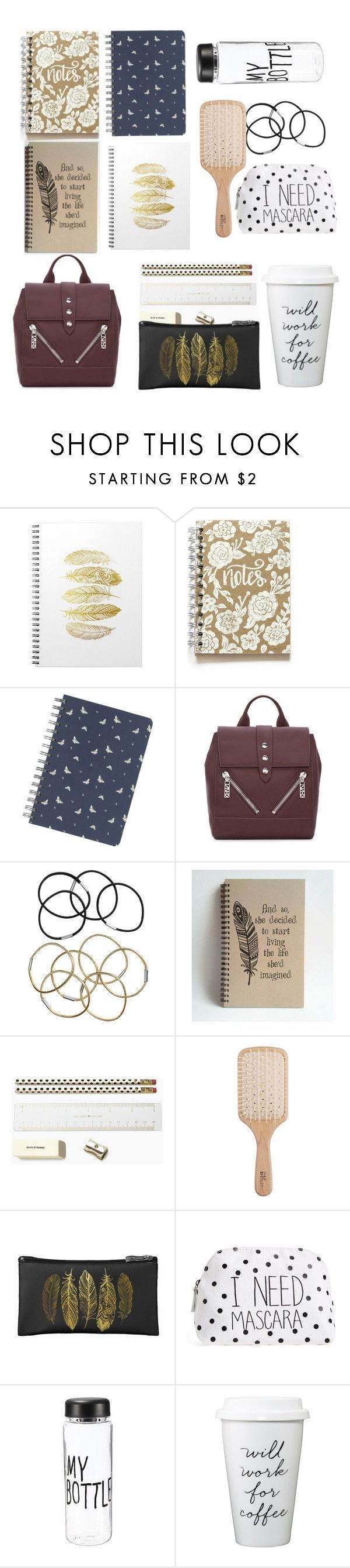 """Allison Argent School Essentials"" by shadyannon ❤ liked on Polyvore featuring Fat Face, Kenzo, H&M, Kate Spade, Philip Kingsley and Itsa Girl Thing"