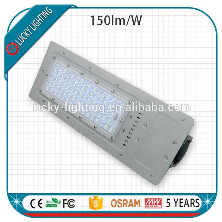 5 years rotatable street led light 120lm/w 60w 100w 120w 150w meanwell led street light