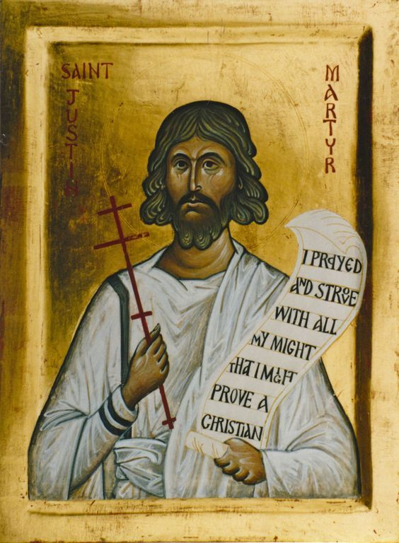 Saint of the Day – June 1 – St Justin Martyr – Defender of the Faith/Apologist and Martyr (100-165) Patron of Philosophers#pinterest Justin never ended his quest for religious truth even when he converted to Christianity after years of studying various pagan philosophies. As a ..........| Awestruck.tv