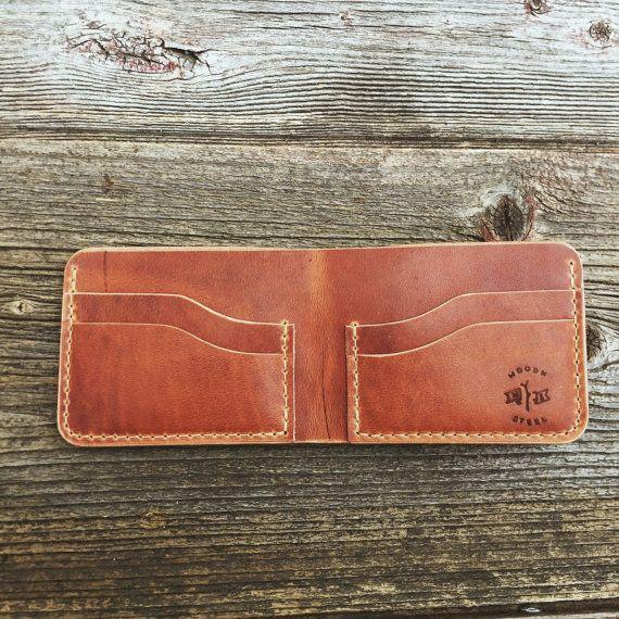 Bifold Wallet Mens Wallet Wallet Leather Wallet by woodnsteel