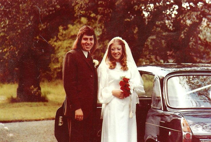 The Look of a 1970s Wedding