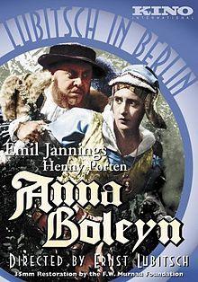 Anna Boleyn. Weimar Republic. Henny Porten, Emil Jananings, Paul Hartmann, Ludwig Hartau, Hedwig Pauly-Winterstein. Directed by Ernst Lubitsch. UFA. 1920