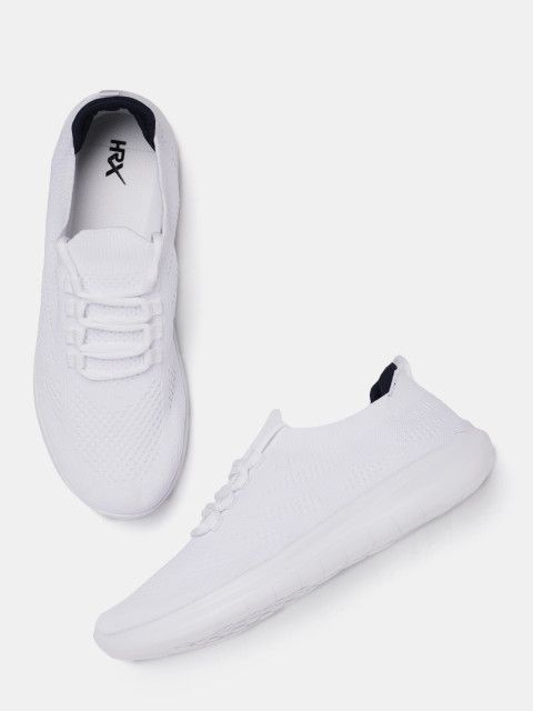 buy online 755d5 ac00f Buy HRX By Hrithik Roshan Men White Running Shoes - Sports ...
