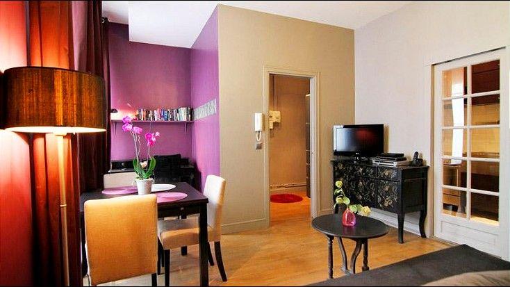 A beautiful corner in the apartment.