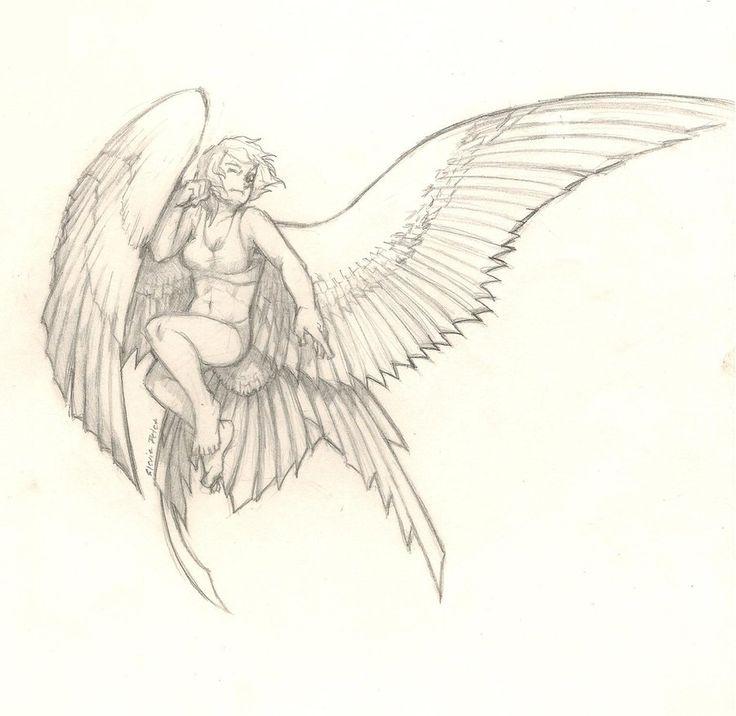 Winged Person By Epicfail32 Deviantart Com On Deviantart