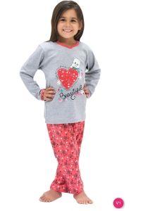 Roly Poly 6561 Kız Garson Pijama Takımı