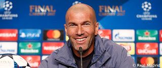 Rueda de Prensa de Zinedine Zidane