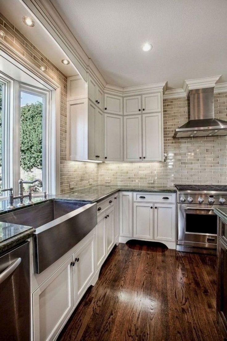 Rustic Kitchen Decoration Antique White Kitchen Antique White Kitchen Cabinets Dark Wood Kitchen Cabinets