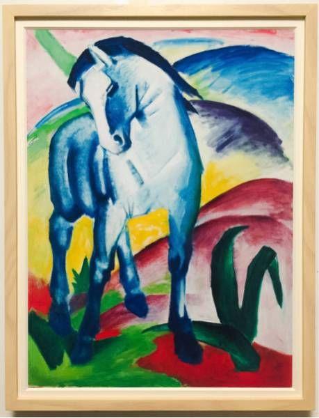 フランツ・マルク 「青い馬 I」 青騎士 - ヤフオク!                              …