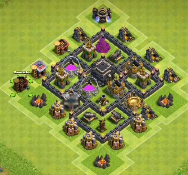 Base Coc Th 5 Farming 7