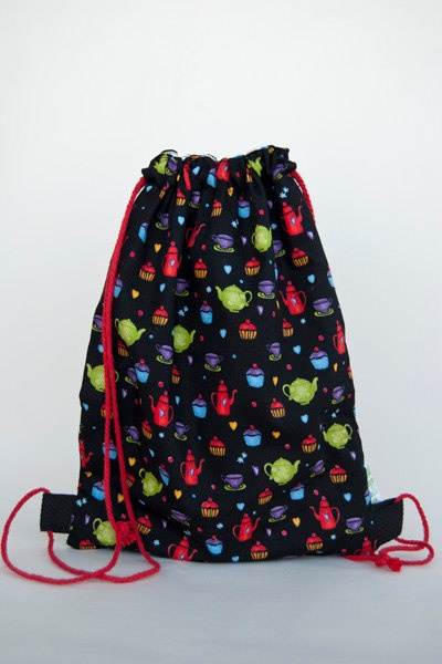Small backpack for kids colorful by LaIndustriaDeMayka, $15.70
