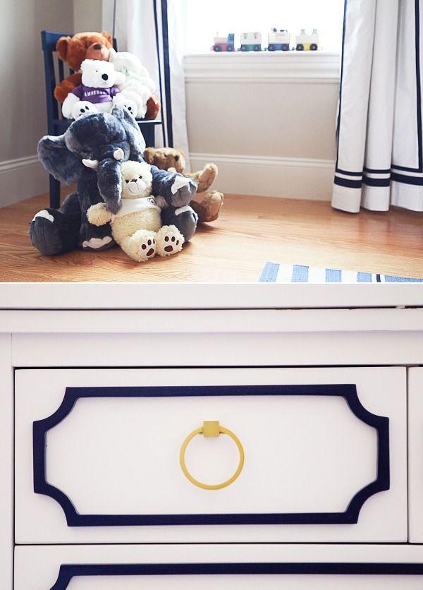 A Modern Preppy Baby Boy Nursery
