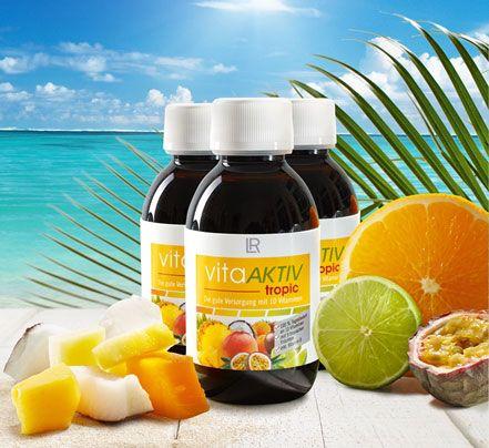 LR Vita Aktív Tropic koncentrátum 9 trópusi gyümölcsfajtából