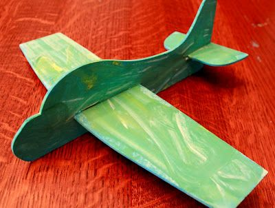 Foam Airplane (Tip: cut your own from a fun foam sheet), Handmade Gifts for Kids