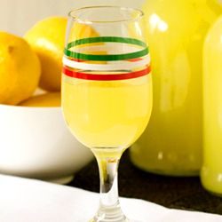 DIY: Homemade Limoncello Used 1.75 liters Everclear, 17 lemons ( or so), 7 c sugar, 8.75 c water. Makes x 17 oz bottles.