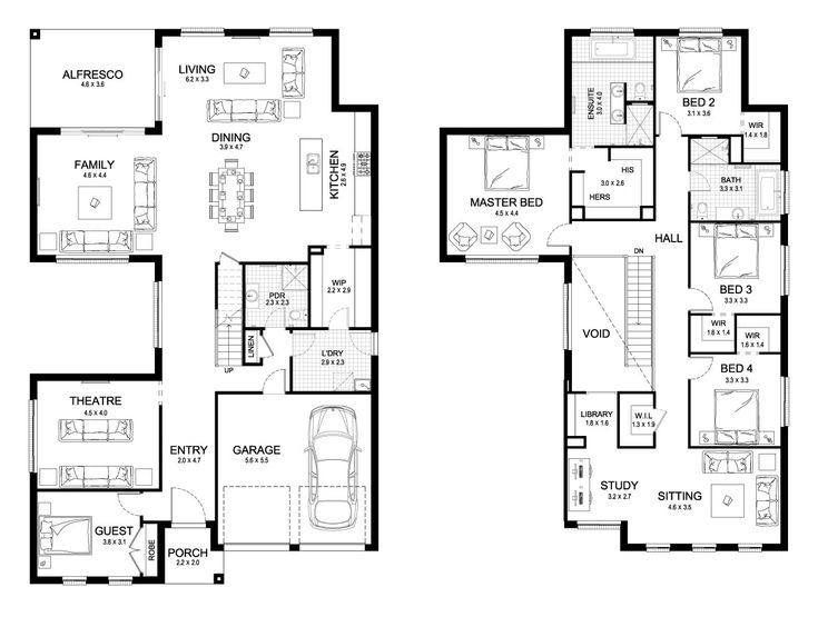 4016 best awesome house plans images on Pinterest Floor plans - new blueprint plan company