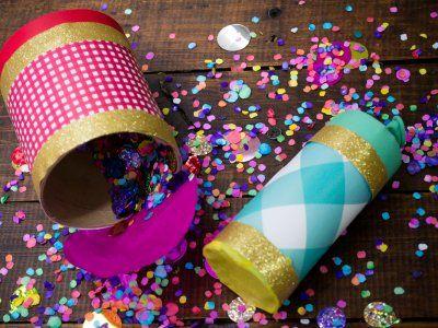 Receta de Bombas de Confeti | Anima tus fiestas con estas bombas de confeti. Son muy fáciles de hacer y los puedes armar con el material que tienes en tu casa. Es una gran actividad para hacer con los niños. Son muy divertidos y serán un éxito en todas tus fiestas.