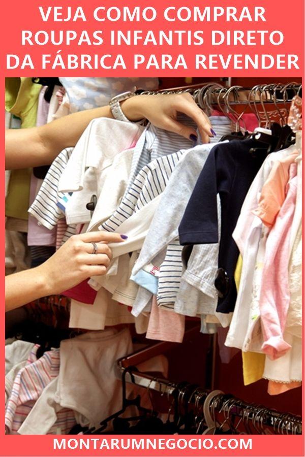 50d008ed3 Confira uma lista de fábricas de roupas infantis no atacado para revender.  Você poderá comprar