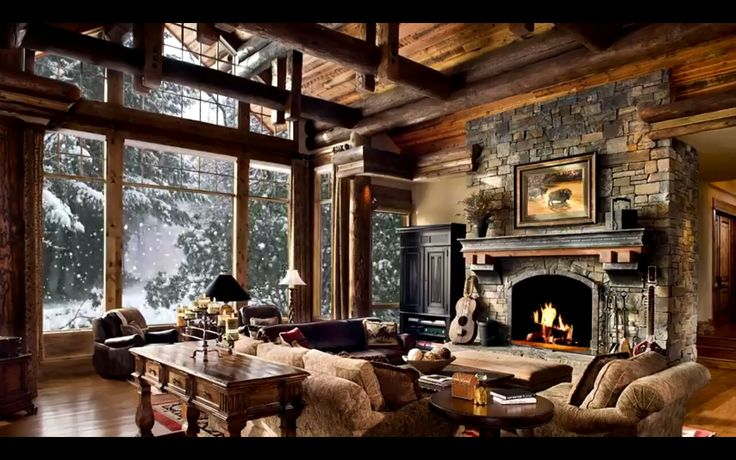 Pin by Colleen McDermott on Fireplace.Woodstove | Cabin ...