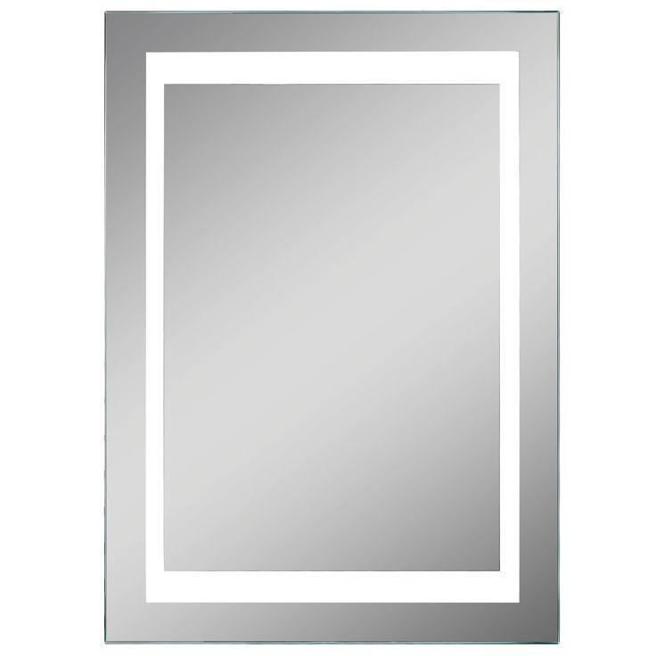 Lumino Coro Illuminated Bathroom Rectangular Mirror with Shaver Socket (W)50cm…