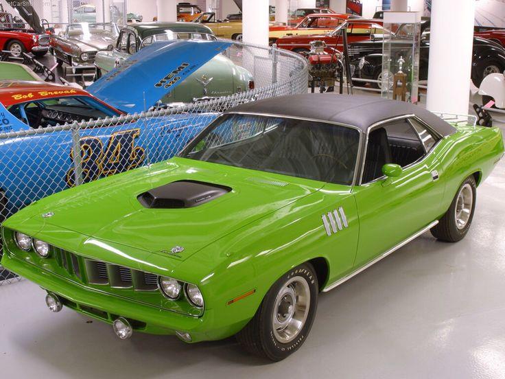 1971 Plymouth Hemi U0027Cuda At The Walter P. Chrysler Museum In Auburn Hills,  MI