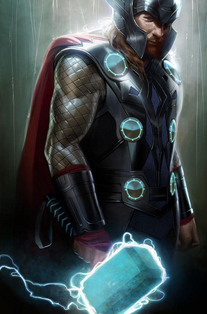 Thor  byMarko Djurdjevic