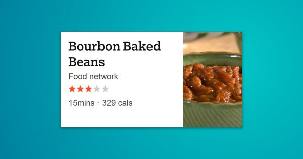 Get this all-star, easy-to-follow Bourbon Baked Beans recipe from Sandra Lee